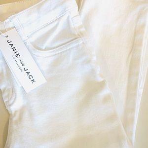Janie and Jack Adjustable Waist  Crop Denim Jeans